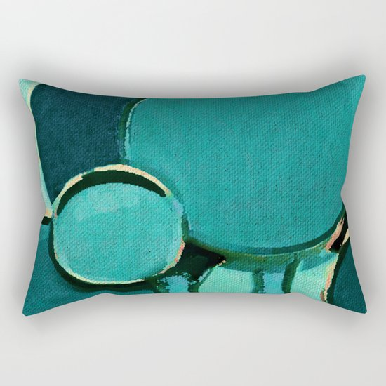 The Bubbles Trees Rectangular Pillow