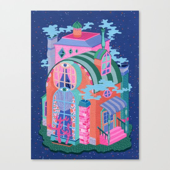 The Seeing House Canvas Print