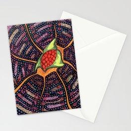 Spiderweb Poppy Stationery Cards