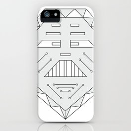 Robot technology #society6 #decor #buyart #artprint iPhone Case