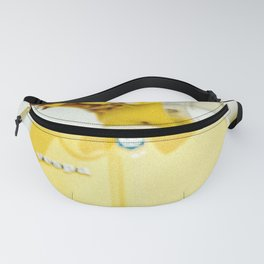 Yellow Scooter #vespaprint #italyphoto #travel #modstyle #yellowmustard Fanny Pack