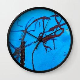 Azure Coarse Wall Clock