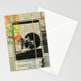 Rauschenberg Rumble (for Hip Kidds) Stationery Cards
