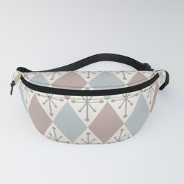 Diamonds and Starbursts Powder Fanny Pack