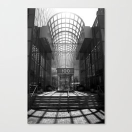 One Hundred Canvas Print