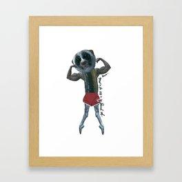 Pickle 2 Framed Art Print