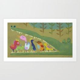 Mutual Aid Art Print