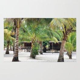 Bungalows on Palm Beach Rug