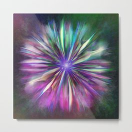 Colorful star  Metal Print