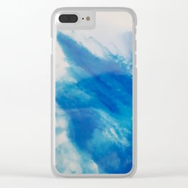 Explosive wave Clear iPhone Case