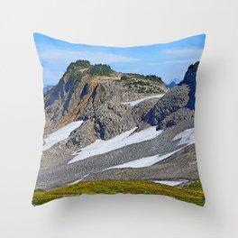 PTARMIGAN RIDGE IN LATE SUMMER GLORY Throw Pillow