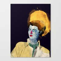 wasted rita Canvas Prints featuring Rita by Alvaro Tapia Hidalgo