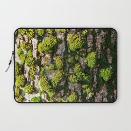 Green Moss Beauty Laptop Sleeve