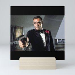 Sean Connery - SIR THOMAS S6 - Society6 Legendary Scottish Actor Producer Hollywood Film DONE Mini Art Print