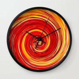 AUTUMN SWIRL Wall Clock