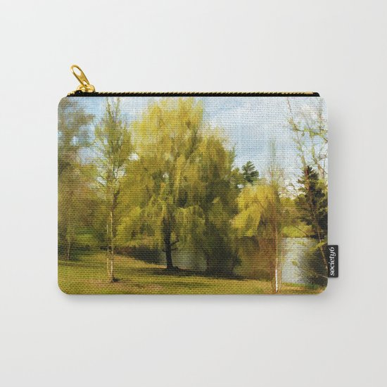 Nature's Harmony - Watercolor Carry-All Pouch