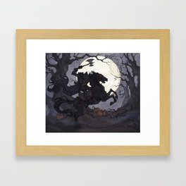 The Headless Horseman Framed Art Print
