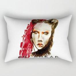 Go ahead Rectangular Pillow