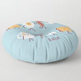 Opposites - Breakfast Floor Pillow