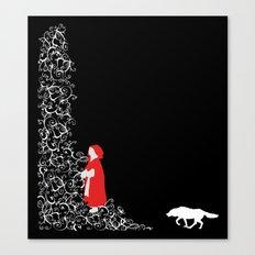 Little Red - Dark Canvas Print