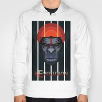 planet of the apes Hoodies featuring Dawn of the Apes by milanova