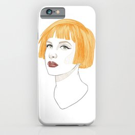 Hayley iPhone Case