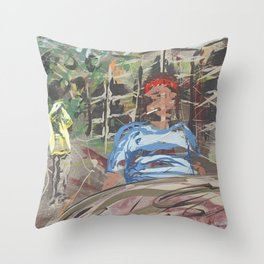 Andy. Hong Kong Throw Pillow