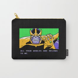 All Your Worlds Are Belong To Me Carry-All Pouch