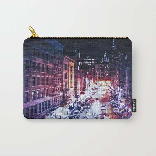 NYC Night Carry-All Pouch