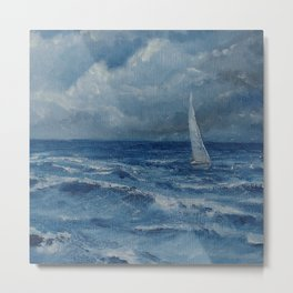 befor the storm Metal Print