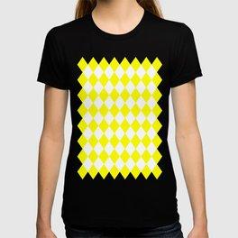 Diamonds (Yellow/White) T-shirt