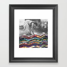 Layers of Our Past Framed Art Print
