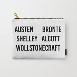 WOMEN OF CLASSICS (WHITE) Carry-All Pouch