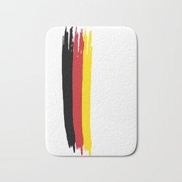 belgium Stripe Country Colors Bath Mat