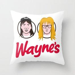Wayne's Double Throw Pillow
