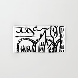 London tube Hand & Bath Towel