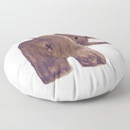 Elephant's butt Floor Pillow