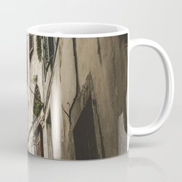 STAIR IN THE MIDDLE OF BUILDINGS Coffee Mug