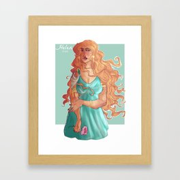 Helen of Sparta Framed Art Print