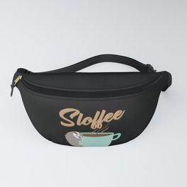 Sloffee   Coffee Sloth Fanny Pack