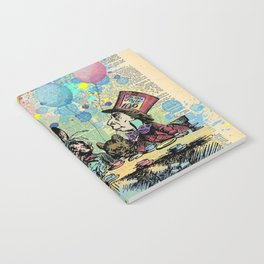 Tea Party Celebration - Alice In Wonderland Notebook
