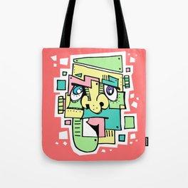 Pastelstein Tote Bag