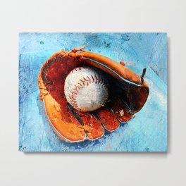 Modern baseball version 1 Metal Print