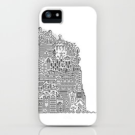 ON AN ISLAND iPhone Case