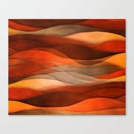 """""""Sea of sand and caramel waves"""" Canvas Print"""