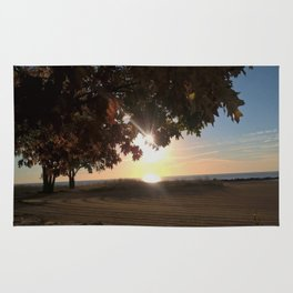 Nine Oclock Sunrise Kenosha Rug