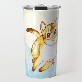 Floating Kitty Travel Mug