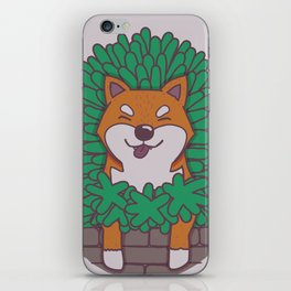 Just hangin' out here.. (Inu Series) iPhone Skin