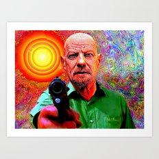 Walter White the Monster I've Become Art Print