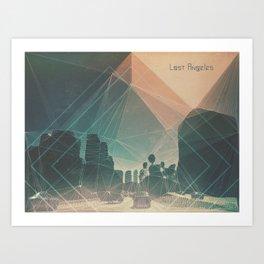 lost angeles. Art Print